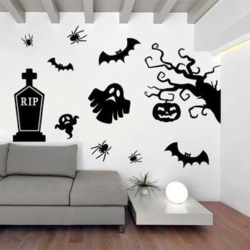 Pack de vinilos decorativos de Halloween